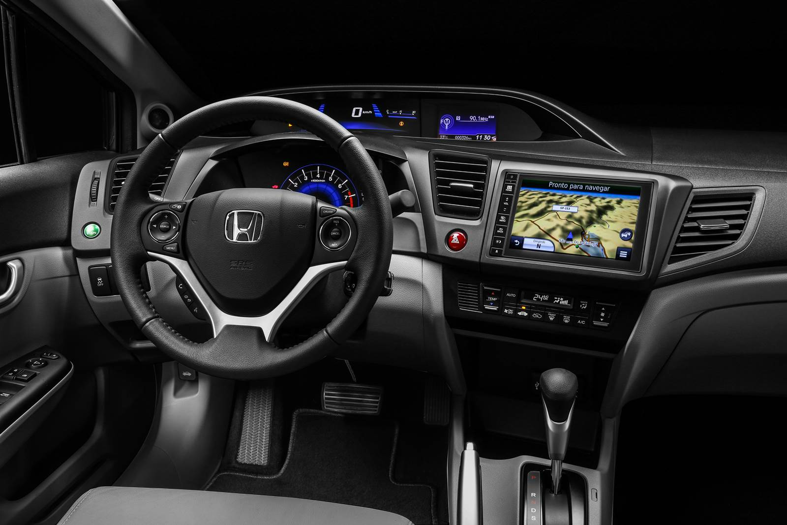 Honda Civic EXR 2016 - interior