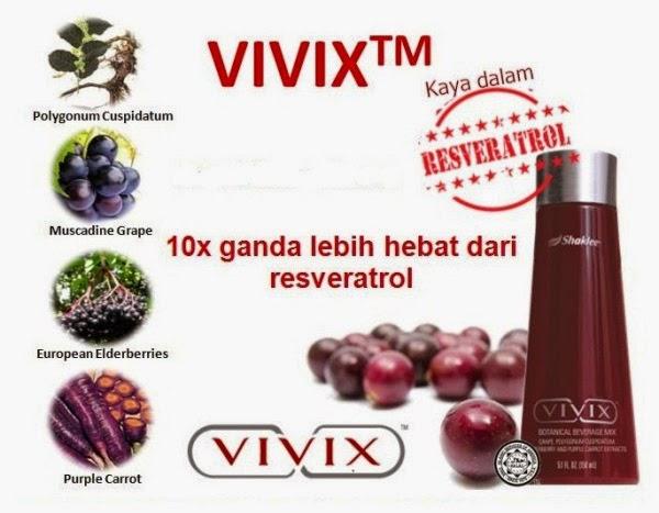 Kandungan utama Vivix shaklee