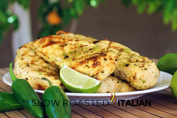 Grilled Tequila Lime Chicken