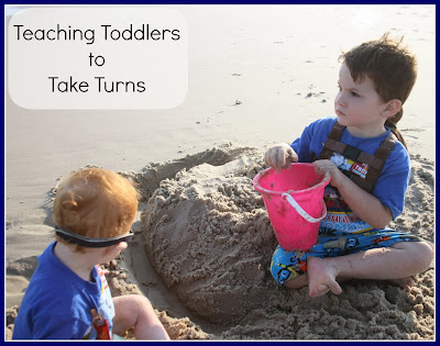toddler manners taking turns
