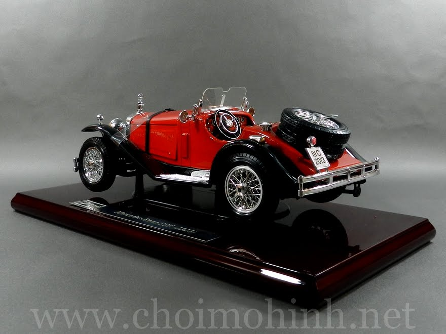 Mercedes-Benz SSK 1928 1:18 bBurago left