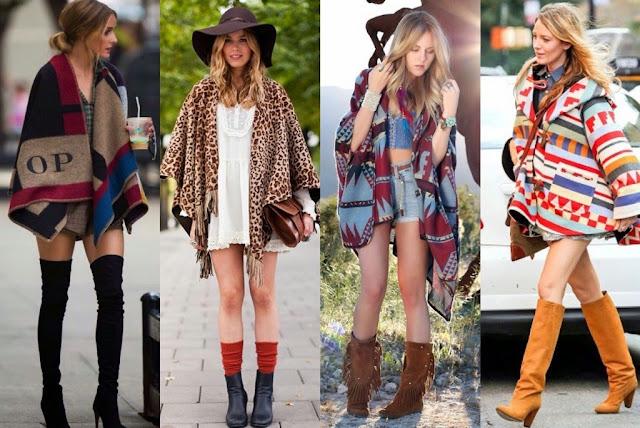 como-usar-poncho-moda-outono-inverno-2015