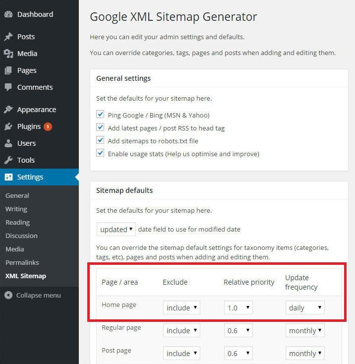 Sitemap Xml Examples: XML Sitemap Generator: Wordpress Plugin Fix