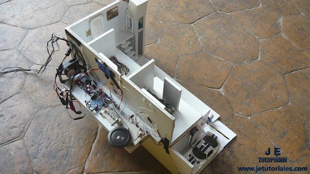 Casa domótica automatizada proyectos con arduino