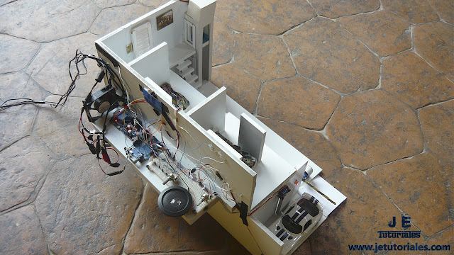 Casa dom tica automatizada proyectos con arduino for Domotica casa