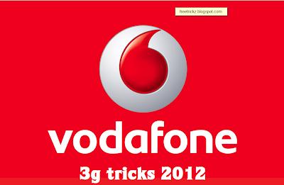 vodafone tricks 2012