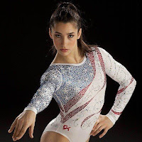 Aly Raisman Olympic gymnast leotard