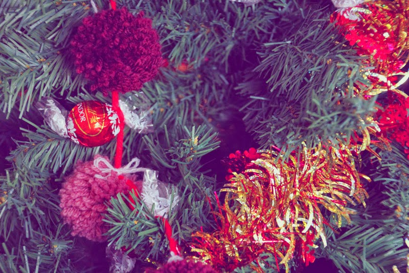 DIY - Guirlande de Noël chocolatée