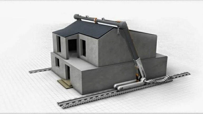 El indagador tecno cient fico desarrollan una impresora - Construir casas en 3d ...