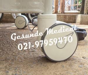 Roda Ranjang Rumah Sakit ABS Elektrik