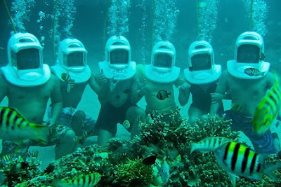 boracay vacation packages_helmet diving