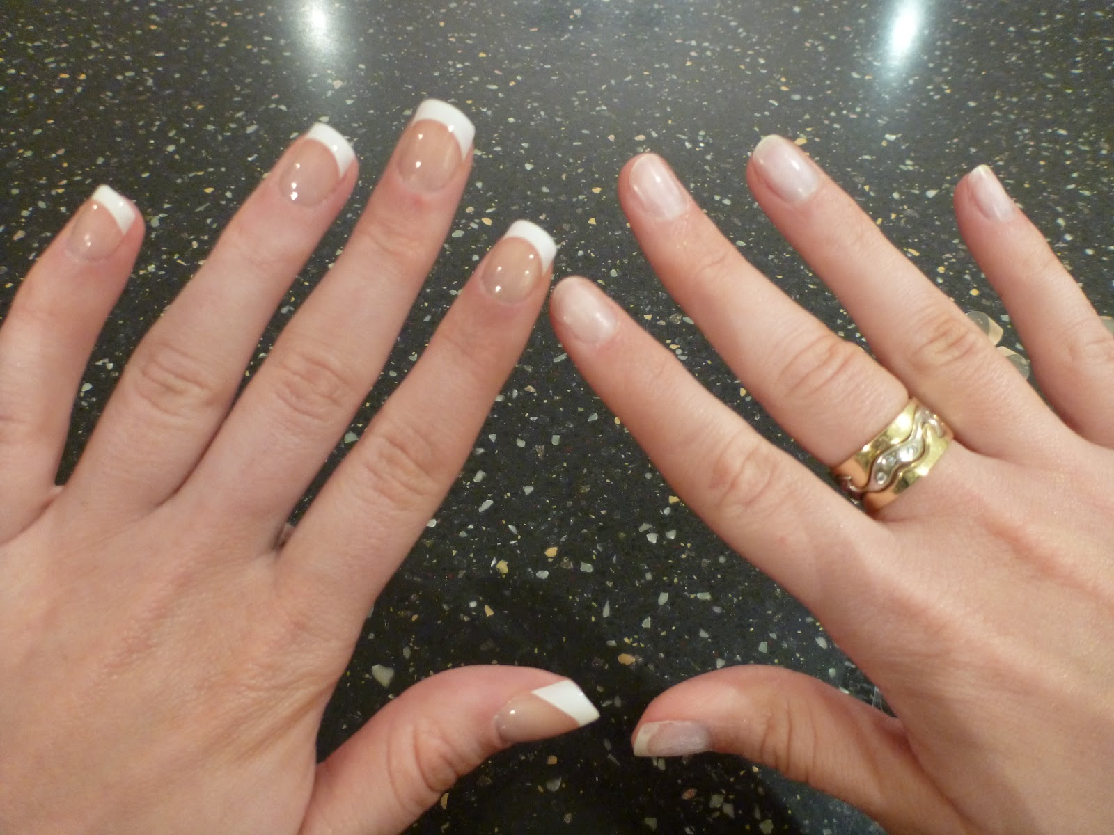 Australian Beauty Review: Nailene So Natural French Nails Review
