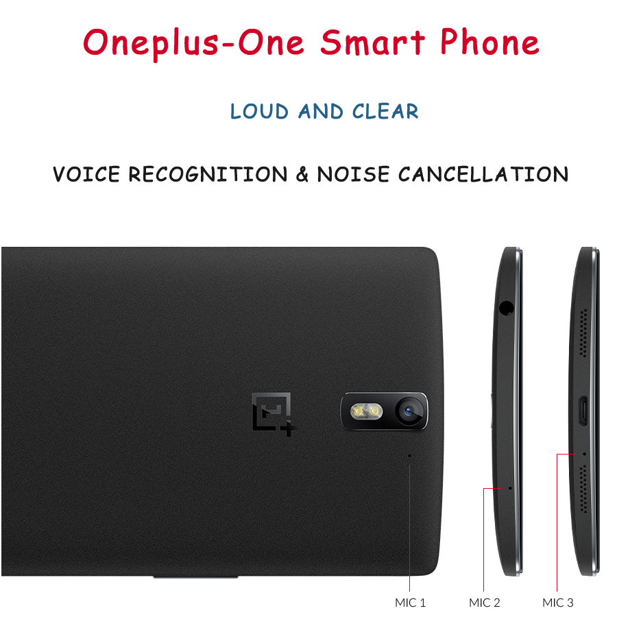 voice and mic of oneplus-one smartphone