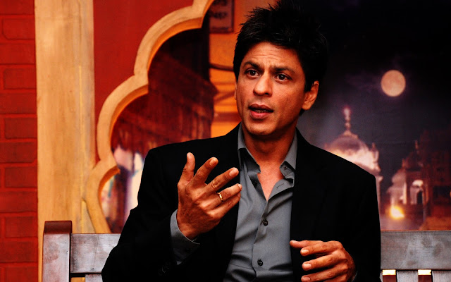 Shahrukh Khan Talking Wallpaper
