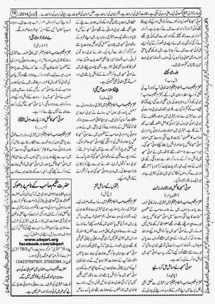 Allama Lahooti Jinnat Ka Paidasi Dost Special Edition