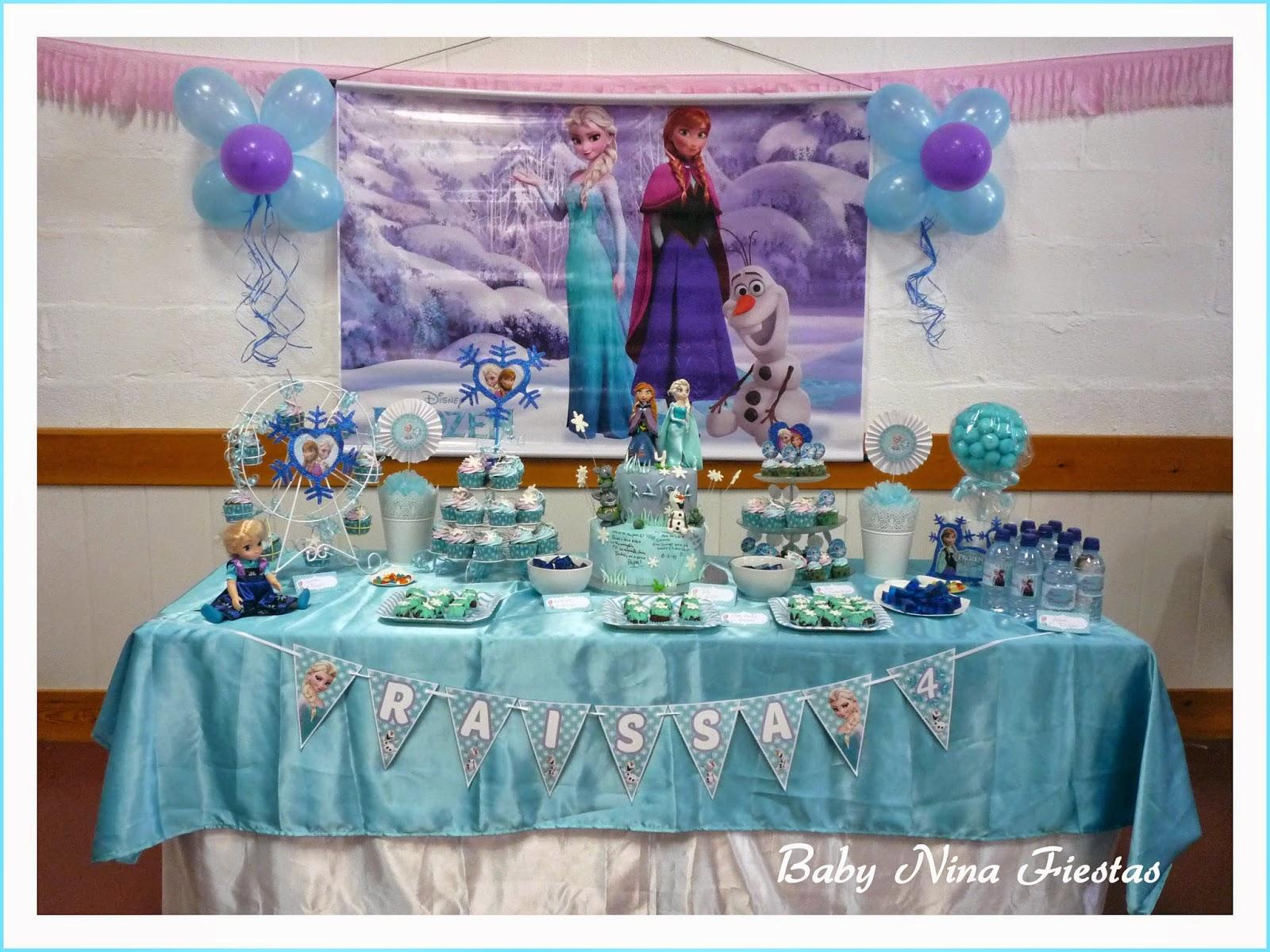 Baby nina fiestas kit de fiesta y decoraci n mesa dulce for Decoracion mesa dulce