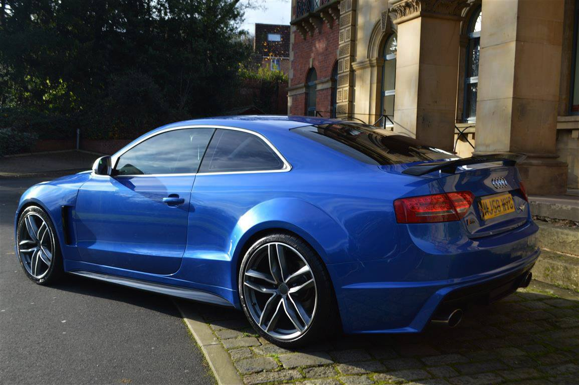 audi rs5 quattro replica for deceivingly super fast looks carscoops. Black Bedroom Furniture Sets. Home Design Ideas