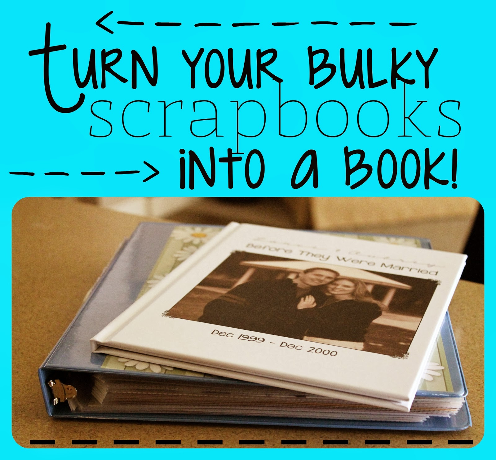 scrapbook into a book, photo album ideas, preserve your memories, scrapbook ideas