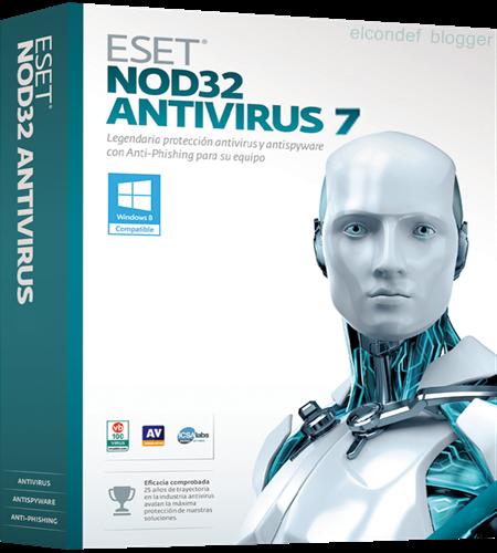 Eset Nod32 Antivirus 7 Full Con Licencias 2013