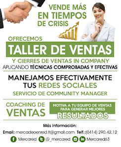 """""""Talleres de venta, de Cierres de Venta y de Ventas en Redes Sociales in Company"""""""