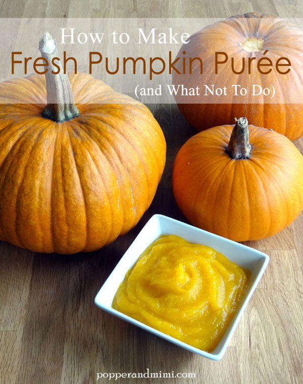 How to Make Fresh Pumpkin Purée (and what not to do)