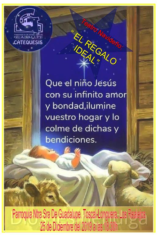 25 diciembre: Obra de Navidad. 18:30 h.