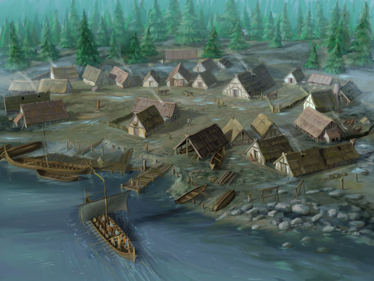 Image result for viking settlements