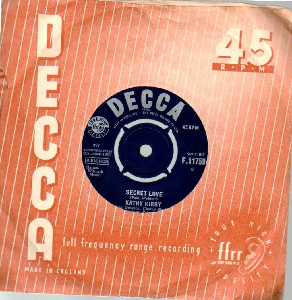 VINYL RECORDS: KATHY K...