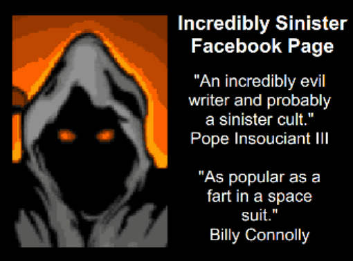FAIRLY EVIL FACEBOOK PAGE