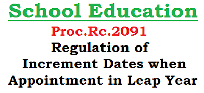 RC.2091, AGI Increment Dates, Appointment in Leap Year