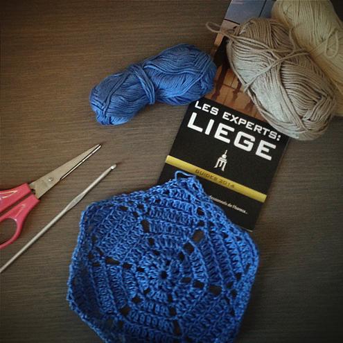 #crochetonthego Liège, Belgium