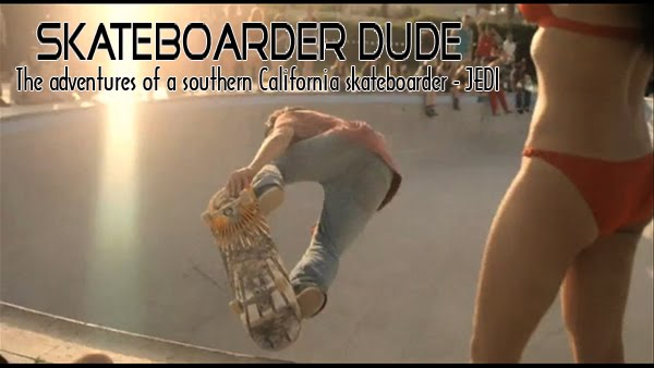Skateboarder Dude