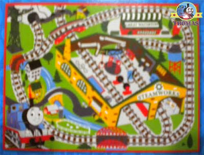 Toy game Thomas the train bedroom decorations nursery carpet rug allowing creative play activities