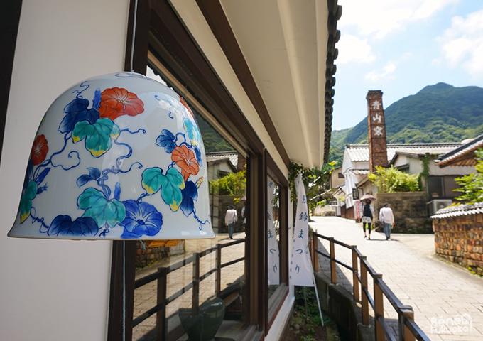 Clochettes à vent fûrin à Okawachiyama, Saga, Kyushu