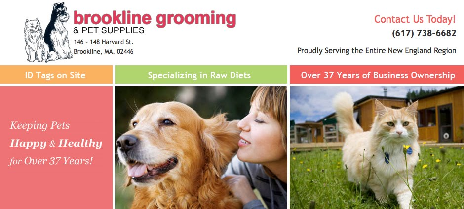 Brookline Grooming and Pet Supplies