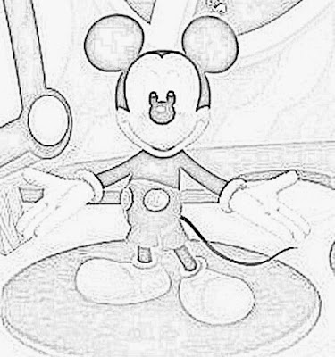 Mickey Mouse Clubhouse Print and Color