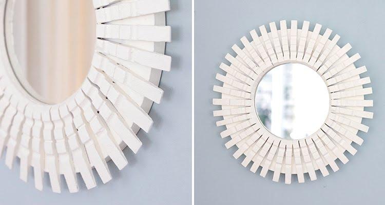 Espelho reutilize pegador