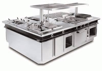 Cocinando generadores de calor for Ver cocinas industriales