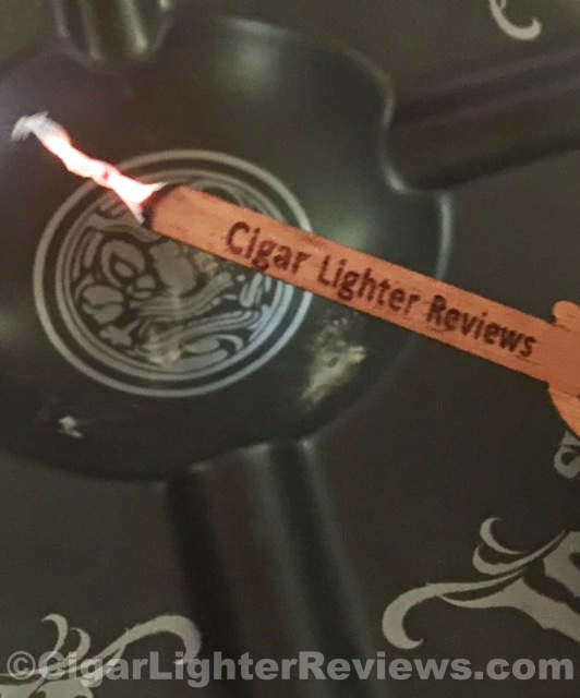 Cigar Reserve Cedar Etched