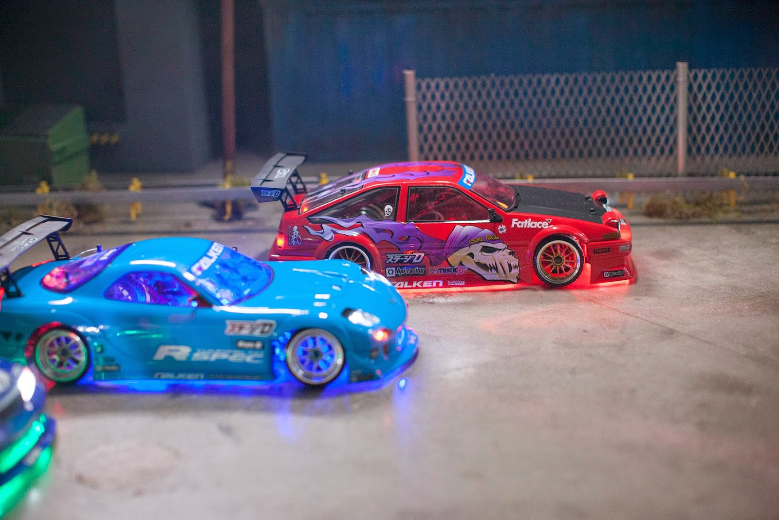 Falken Tire's RC Drift cars!
