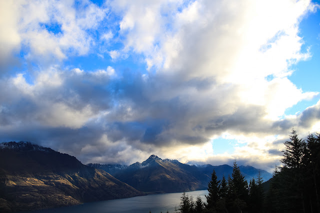 view of Lake Wakatipu Queenstown