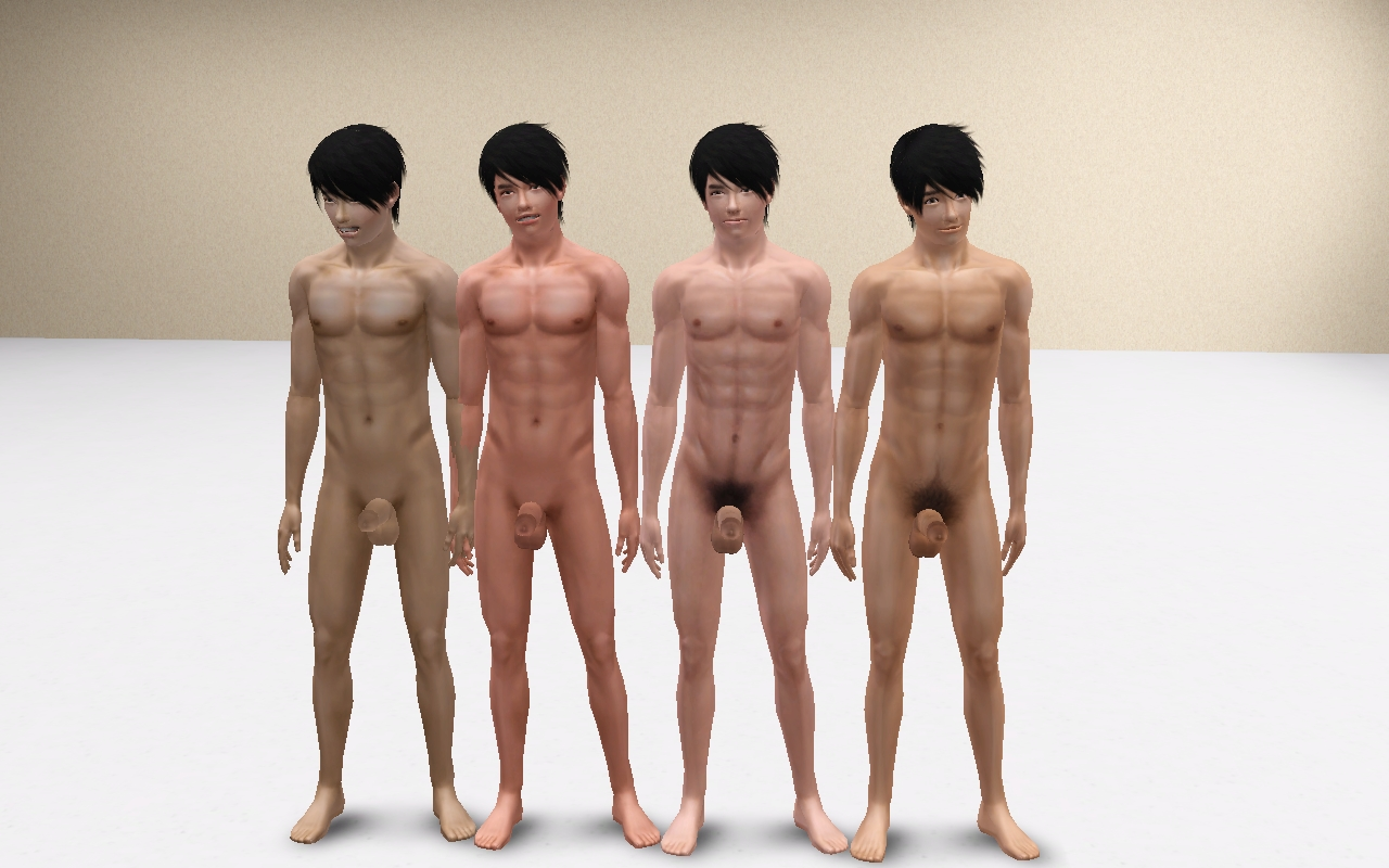 Descarga gratuita de The sims 2 nude skins