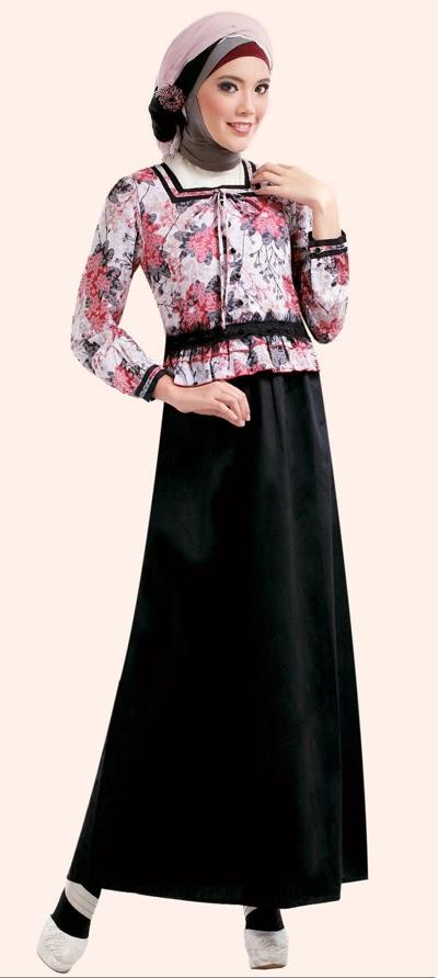 Jual Baju Muslim Terbaru Model Gamis Cantik 2016
