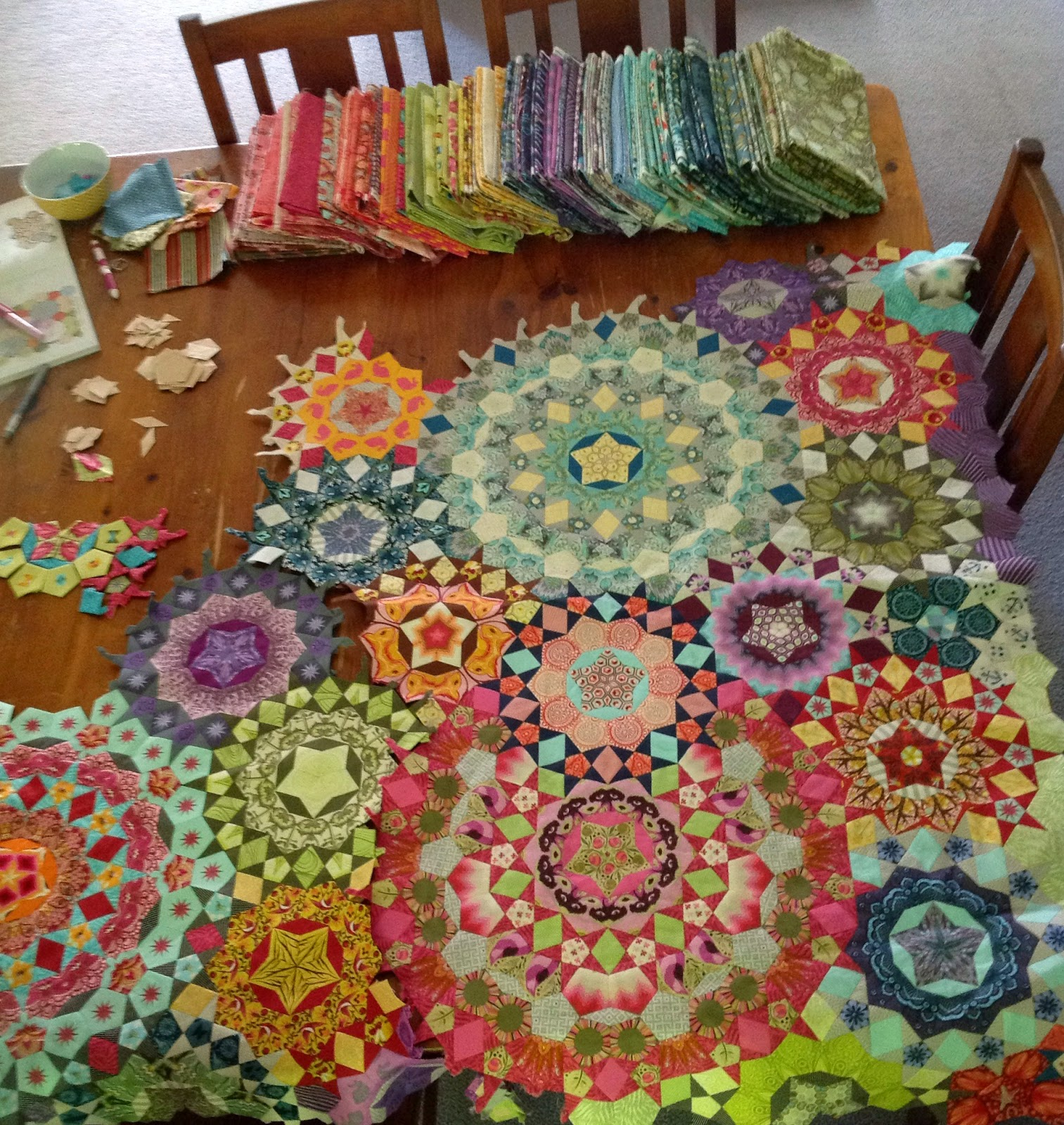 La Passacaglia Quilt The Craziness Is Taking Over