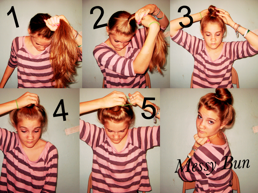 Mysteriously gorgeous tutorials easy and simple messy bun easy and simple messy bun urmus Gallery
