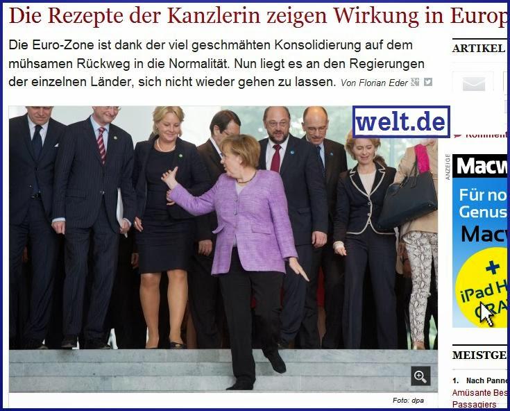 Währungsunion: Die Rezepte der Kanzlerin zeigen Wirkung in Europa