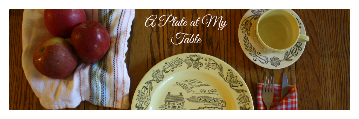 A Plate at My Table - Hospitality and Entertaining