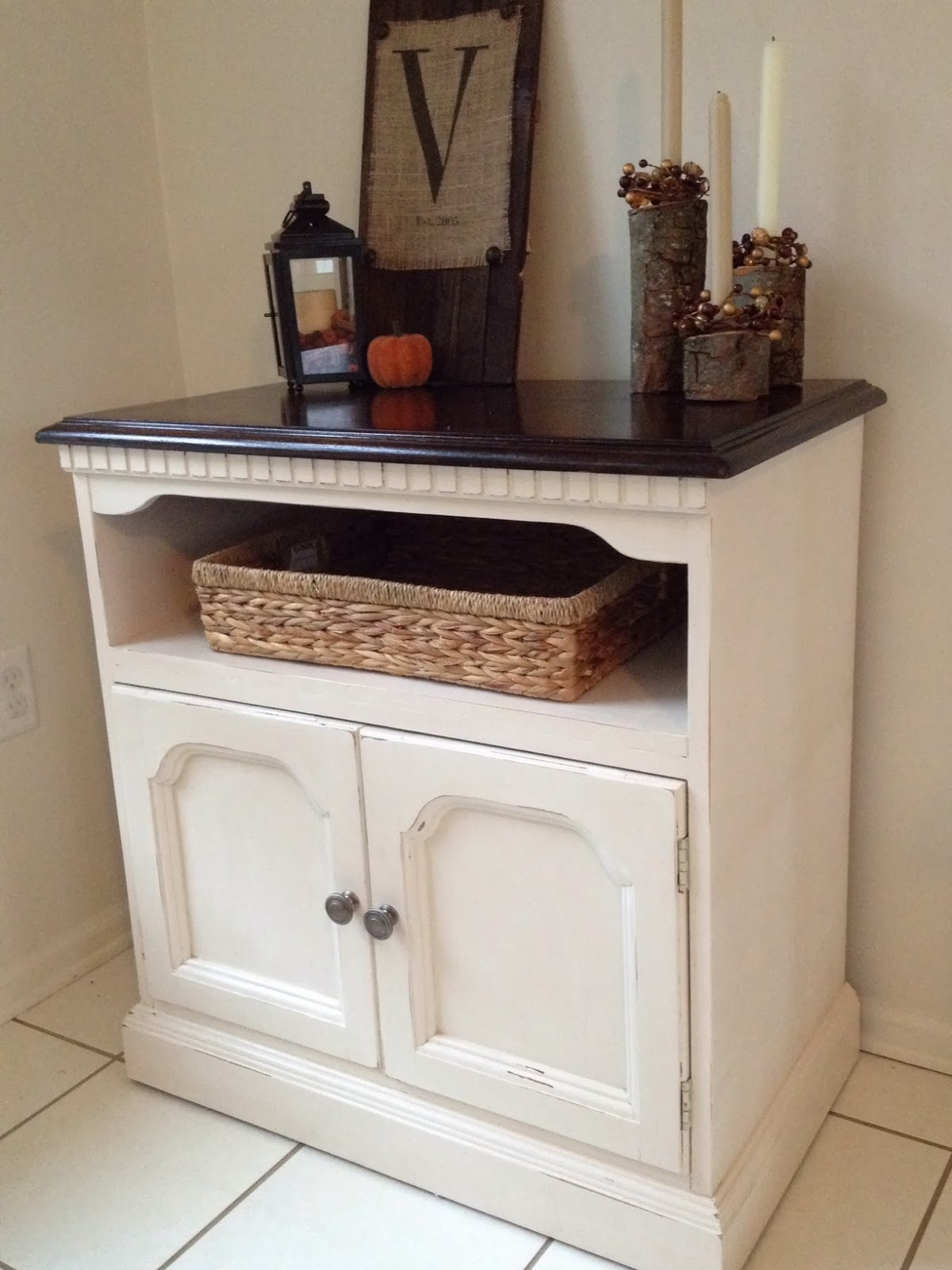 Old Console Tv Makeovers ~ Two it yourself thrifted tv stand makeover with tone