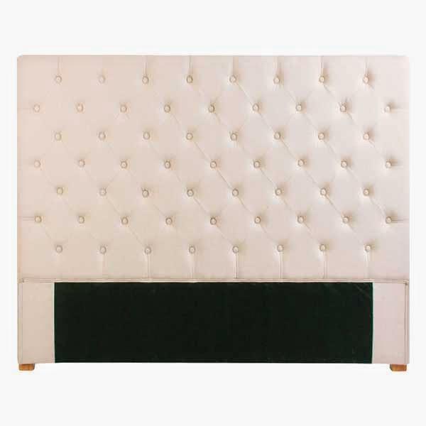 Cabecero cama de matrimonio, cabecero tapizado lino