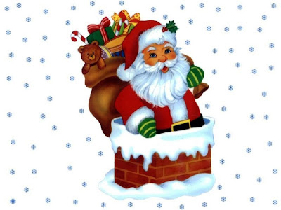 Beautiful photo of Santa Claus for desktop wallpaper